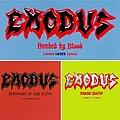 Exodus - Tape / Vinyl / CD / Recording etc - Exodus - 'Limited Silver Edition' 3 album complete set