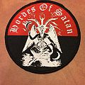 Hordes Of Satan - Patch - Hordes of satan round patch
