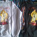 Satyricon - TShirt or Longsleeve - Satyricon mot kvite krist  white sweatshirt and black longsleeve