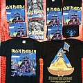 Iron Maiden-Mexico Event Shirts 2008