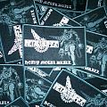 NOW AVAILABLE!!! VERY LIMITED Metalucifer Woven Patches!!!