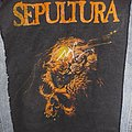 Sepultura-Beneath The Remains Backpatch 1990