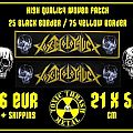 PRE-SALE!!! Toxic Holocaust Woven Strip Patch
