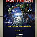 Iron Maiden - The Final Frontier Promo Poster