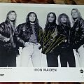 Iron Maiden-Poster Signed By Blaze Bayley