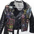 Iron Maiden Tribute Vest & Leather Jacket