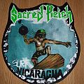 Shaped Sacred Reich-Surf Nicaragua Backpatch