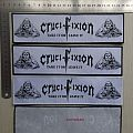 Crucifixion-Take It Or Leave It strip patch + shirt NOW AVAILABLE