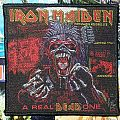 Iron Maiden - Patch - Iron Maiden-Real Dead One