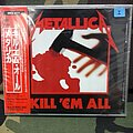 Metallica-Kill 'Em All Japanese CD