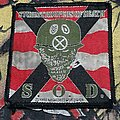S.O.D. - Patch - S.O.D. - Speak English Or Die Patch 1990