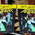 Anthrax-Spreading The Disease Baackpatch Licensed To Brockum 1989