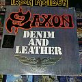 Saxon-Denim & Leather 1st Press