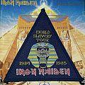 Iron Maiden-World Slavery Tour '84-'85 Triangle Patch