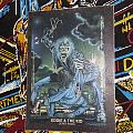 Iron Maiden-No Prayer On The Road/Hooks In You Trading Card