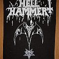 Hellhammer-Satanic Rites Backpatch