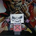 Iron Maiden-The Trooper DIY paper figure!