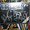 Testament-The New Order Signed Tape