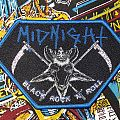 Midnight-Black Rock N Roll patch