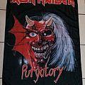 Iron Maiden-Purgatory poster flag