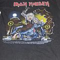 Iron Maiden-No Prayer On The Road/Hooks In You shirt
