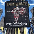 Iron Maiden - Patch - Iron Maiden - Can I Play With Madness BLACK Background Patch 1988