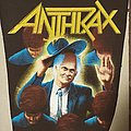 Anthrax - Among The Living Backpatch 1987