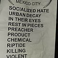 Atrophy - Hooded Top - Atrophy - Mexico 2020 Setlist