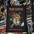 Iron Maiden - Patch - Iron Maiden - World Piece Tour Patch 1983