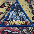 Warrant - Patch - Warrant - The Enforcer Bootleg Patch