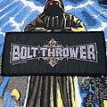 Bolt Thrower - Patch - Bolt Thrower - Purple Logo Patch 1990