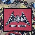 Nifelheim - Patch - Nifelheim - Fuck Off!!!! Bootleg Patch
