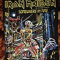 Iron Maiden - Patch - Iron Maiden - Somewhere In Time Backpatch 1986