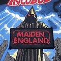 Iron Maiden - Patch - Iron Maiden - Maiden England Patch 1988