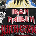 Iron Maiden - Patch - Iron Maiden - Purgatory Strip Patch 1981