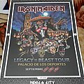 Iron Maiden - Other Collectable - Iron Maiden - Nights Of Of The Dead Mexico 2019 Event Poster Lim to 500