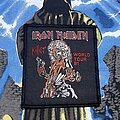 Iron Maiden - Patch - Iron Maiden - Killer World Tour 1981