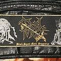 Cruel Force - Patch - Cruel Force - Black Speed Metal Supporter Superstrip Bootleg