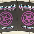 Onslaught - The Force backpatches 1986
