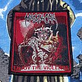 Massacra - Patch - Massacra - Enjoy The Violence Bootleg Patch