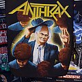 Anthrax - Patch - Anthrax - Among The Living Backpatch 1987