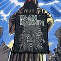 Iron Maiden - Patch - Iron Maiden - S/T Patch Green Glitter Logo 1980