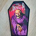 Death Scream Bloody Gore Coffin Patch