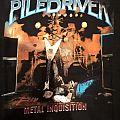 "Piledriver - TShirt or Longsleeve - Piledriver ""Metal Inquisition"" Shirt"