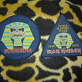 Iron Maiden Powerslave Patches