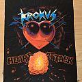 Krokus Heart Attack Back Patch