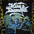 King Diamond - Patch - King Diamond Abigail Back Patch