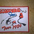 Scorpions Tour 1984 Patch