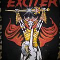 "Exciter ""Long live the Loud"" Vintage Back Patch"