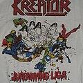 Kreator - TShirt or Longsleeve - Kreator US Tour 89 Superdiving Liga Shirt
